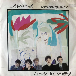 "Altered Images - I Could Be Happy (7"") (G/G)"